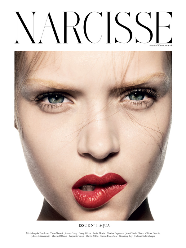 josephine skriver beauty1 Josephine Skriver Stars in Premier Issue of Narcisse by Marcus Ohlsson