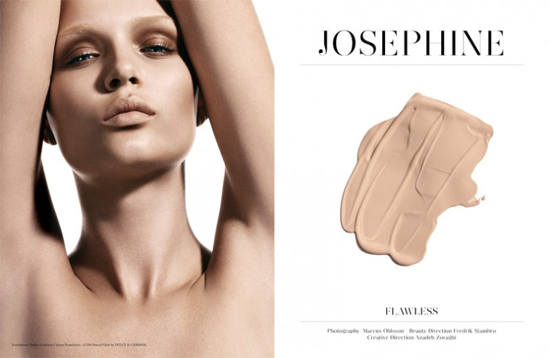 josephine skriver beauty2 800x521 Josephine Skriver Stars in Premier Issue of Narcisse by Marcus Ohlsson