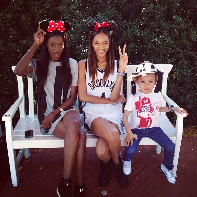 jourdan disneyland Instagram Photos of the Week | Barbara Palvin, Behati Prinsloo + More Model Pics