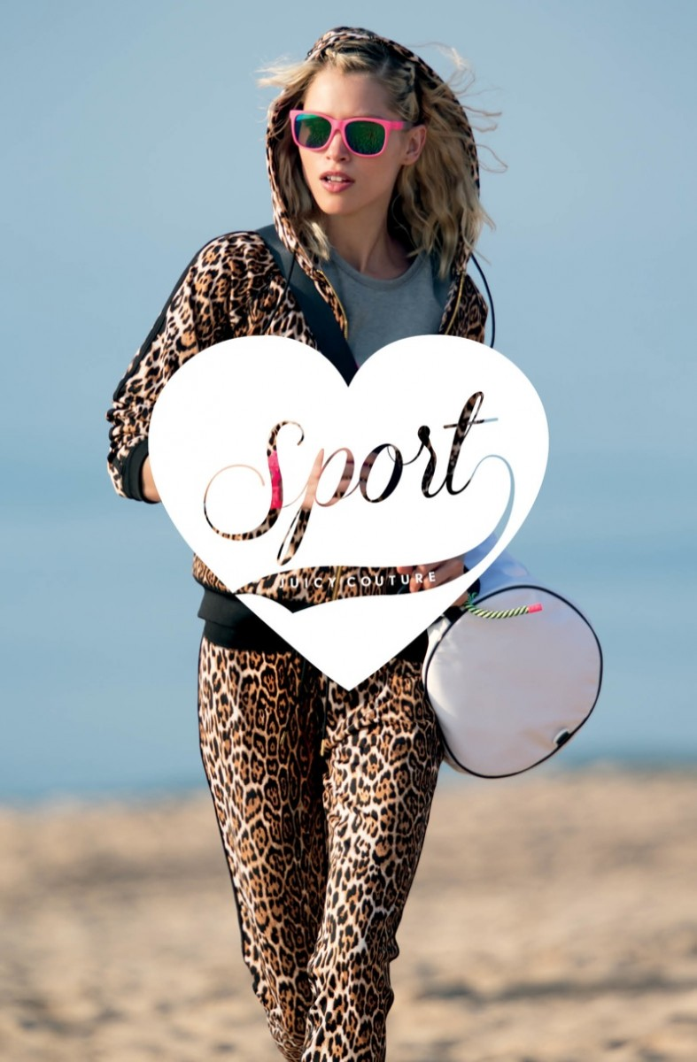 juicy couture sport1 787x1200 Emily DiDonato + Hana Jirickova Pose for Juicy Couture Sport
