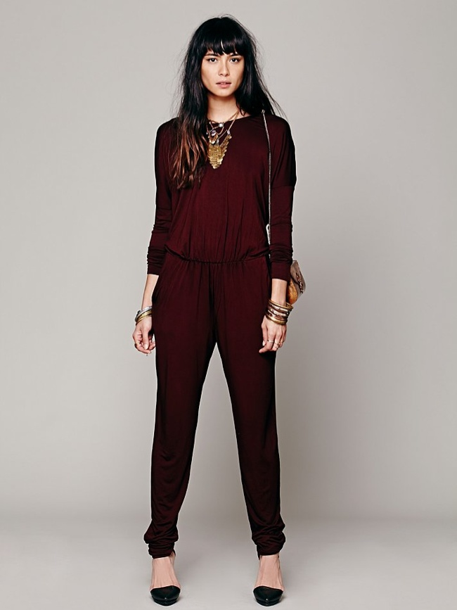 jumpsuit free people 70s Glam: Fashion Inspired by American Hustle Film