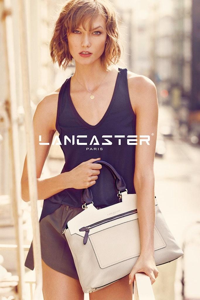 karlie kloss lancaster paris spring2 Karlie Kloss Fronts Lancaster Paris Spring 2014 Campaign