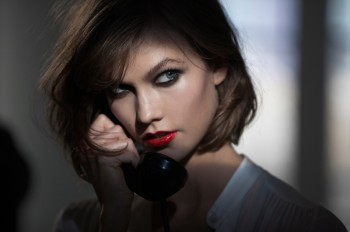Karlie Kloss Seduces in Tamara Mellon Film