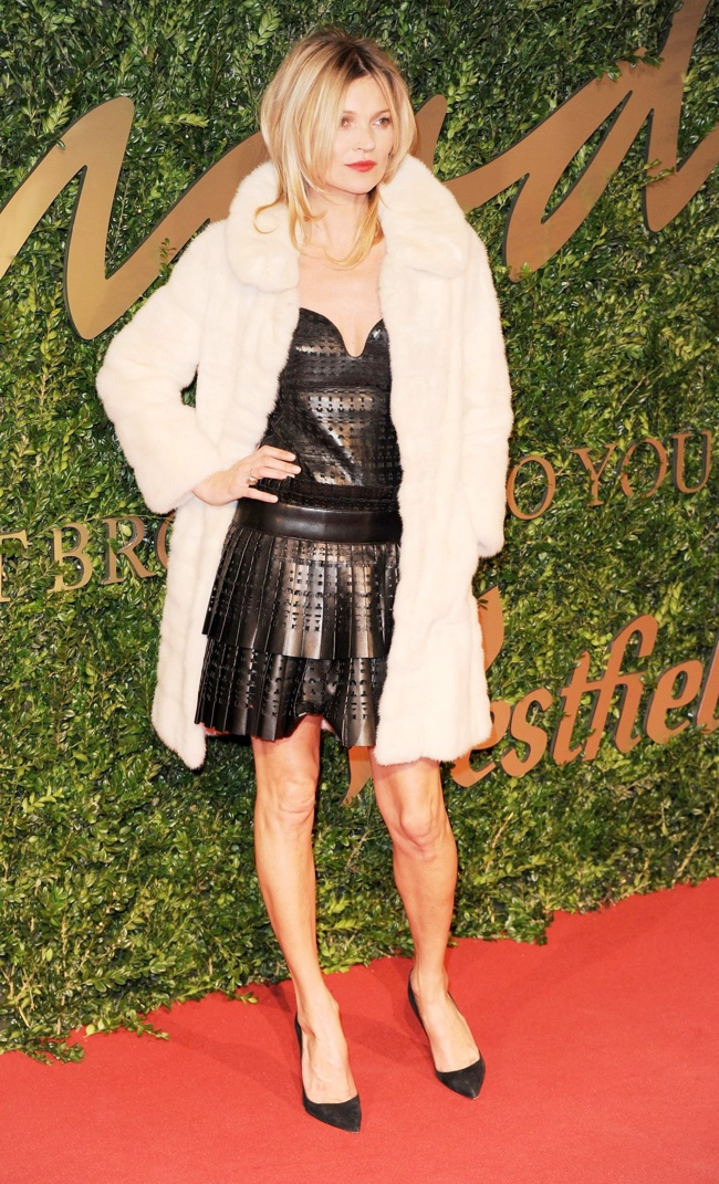 kate moss alexander mcqueen Daisy Lowe, Rosie Huntington Whiteley + More Stars at the 2013 British Fashion Awards