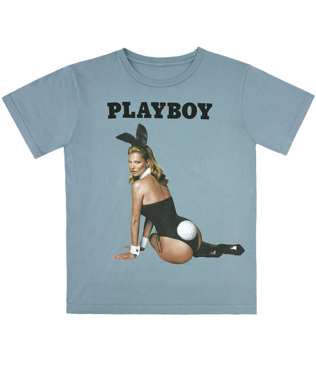 kate moss playboy shirt Kate Moss for Playboy Now Available as Marc Jacobs T Shirt