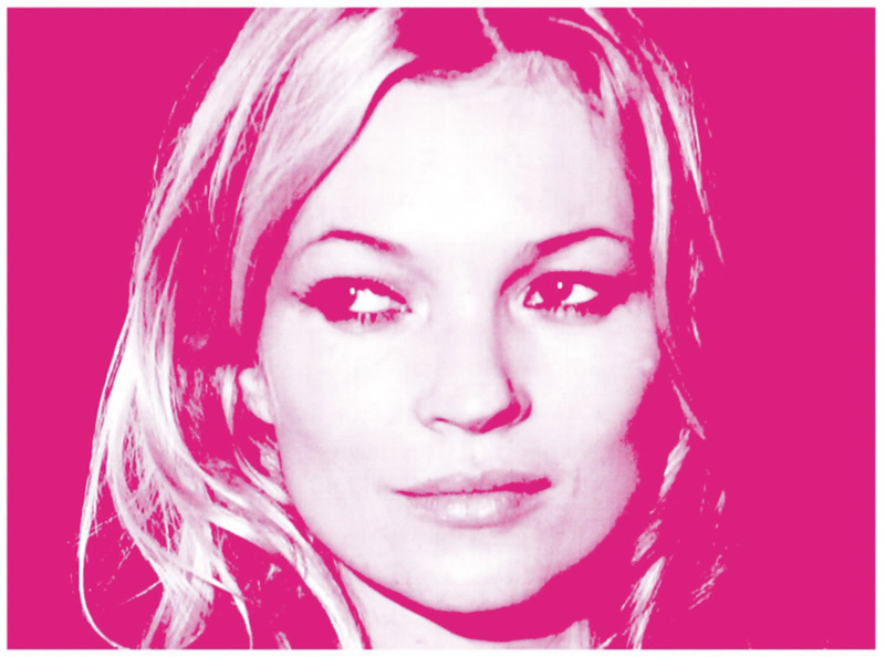 kate moss russell marsh Kate Moss Gets Art Retrospective for 40th Birthday