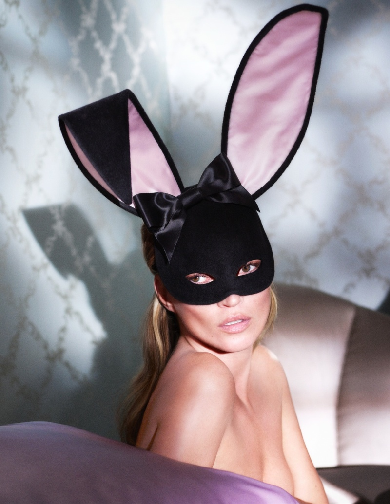 kate playboy 60th anniversary2 Kate Moss Cover for Playboys 60th Anniversary Issue is Here