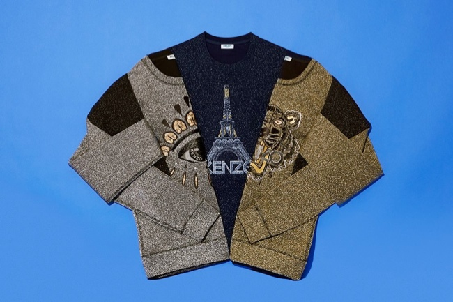 Kenzo Launches Icon Sweaters for Christmas