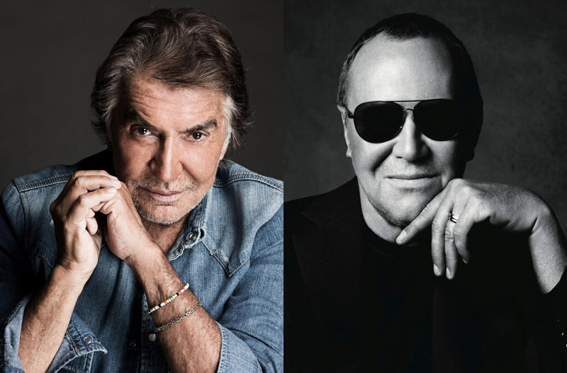 Roberto Cavalli (Left), Michael Kors (Right) / Images courtesy of designers' Twitters