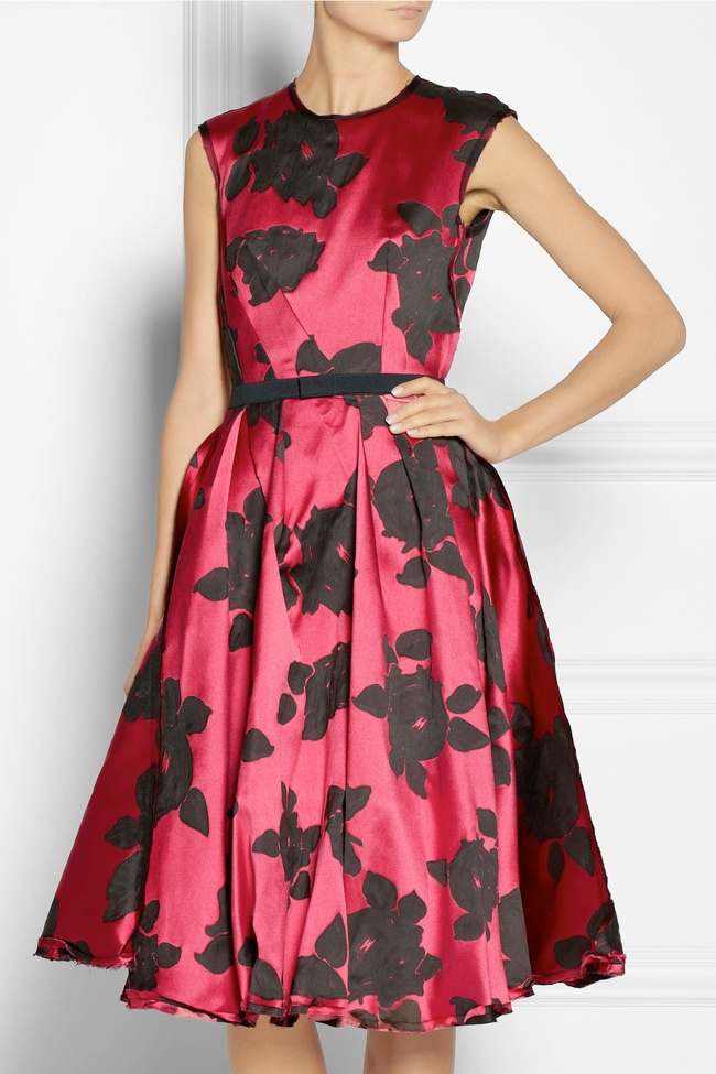 lanvin floral dress Net a Porter Sale: Get Up to 70% Off Designer Looks