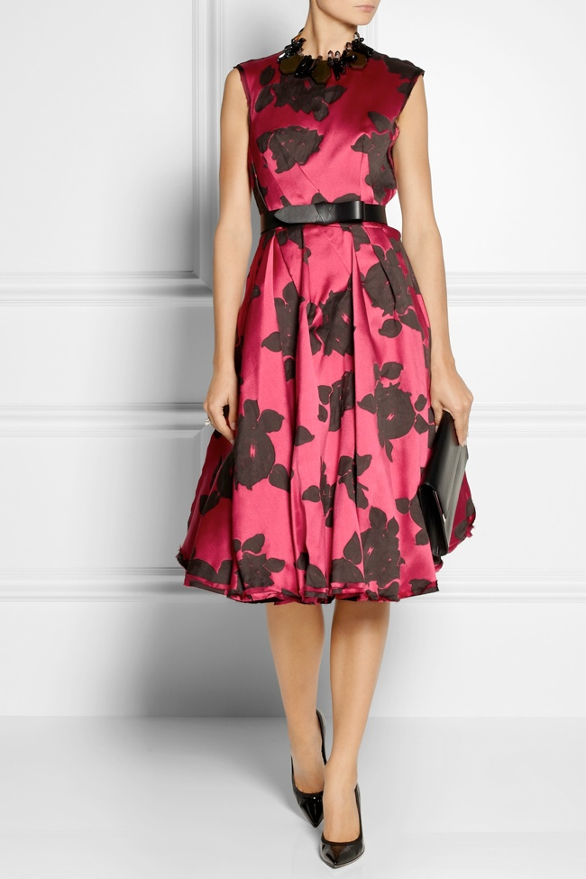 lanvin floral dress3 Net a Porter Sale: Get Up to 70% Off Designer Looks