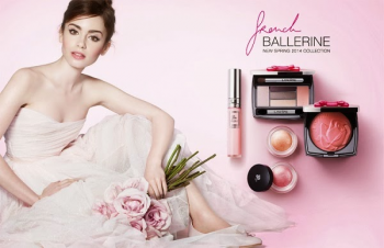 Lily Collins is a Ballerina for New Lancome Campaign