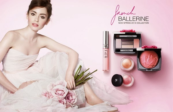 lily collins lancome Lily Collins is a Ballerina for New Lancome Campaign