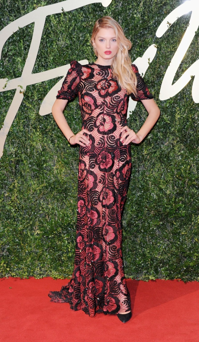 lily donaldson marc jacobs Daisy Lowe, Rosie Huntington Whiteley + More Stars at the 2013 British Fashion Awards