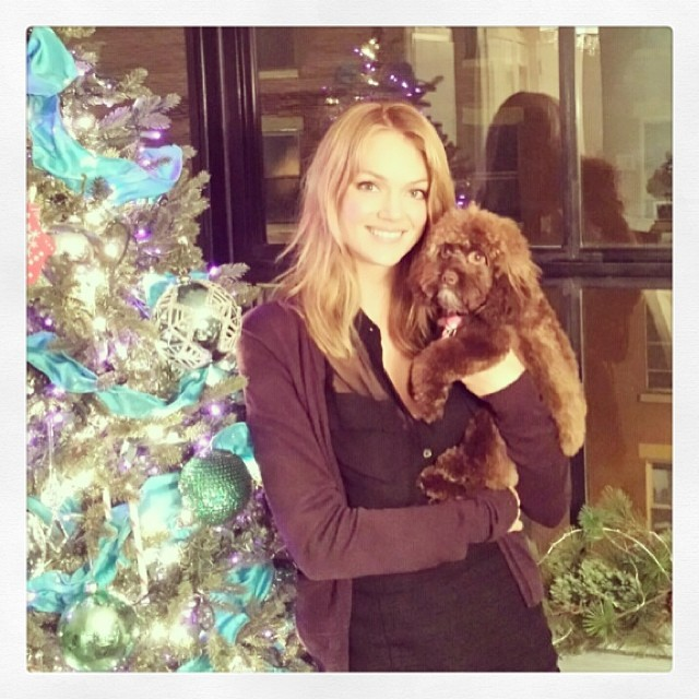 lindsay christmas Instagram Photos of the Week | Natasha Poly, Eniko Mihalik + More Model Pics