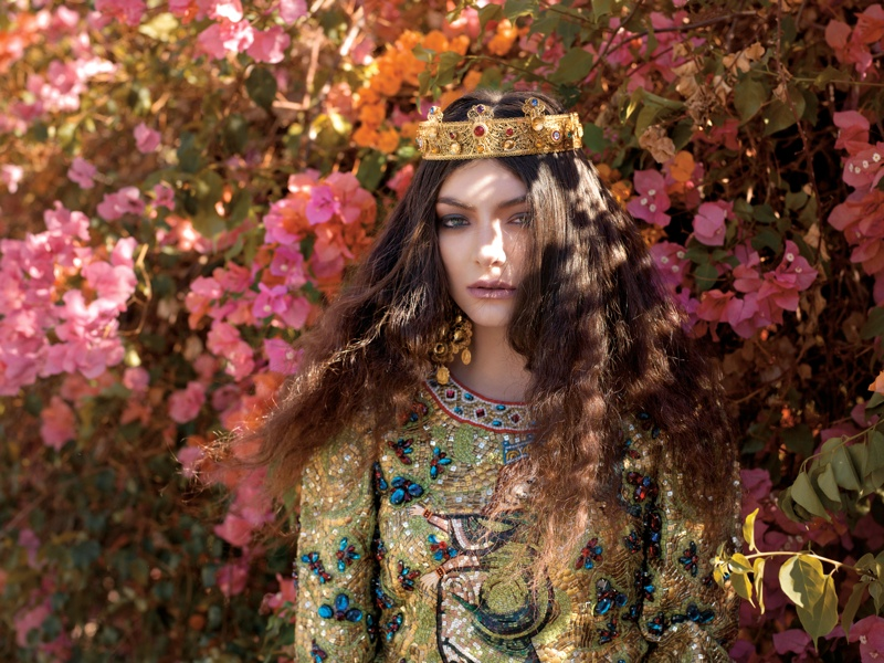 lorde royal wild magazine4 Lorde Looks Like Royalty for The Wild Magazine by Stevie and Mada