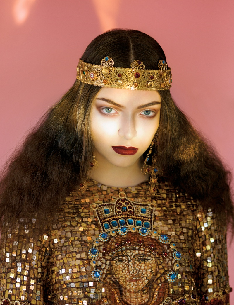 lorde royal wild magazine5 Lorde Looks Like Royalty for The Wild Magazine by Stevie and Mada