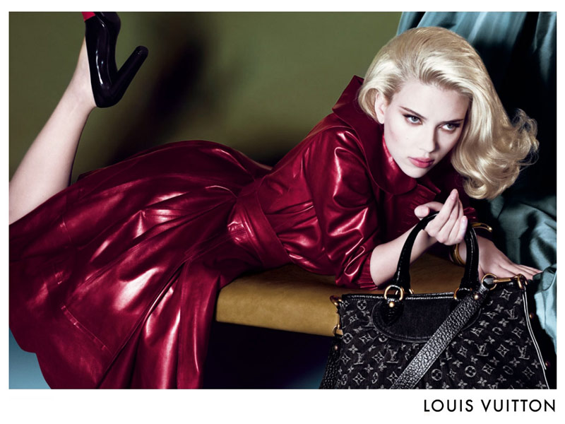 louis vuitton scarlett johansson fall 2007 1 Throwback Thursday | Scarlett Johansson for Louis Vuittons Fall 2007 Campaign
