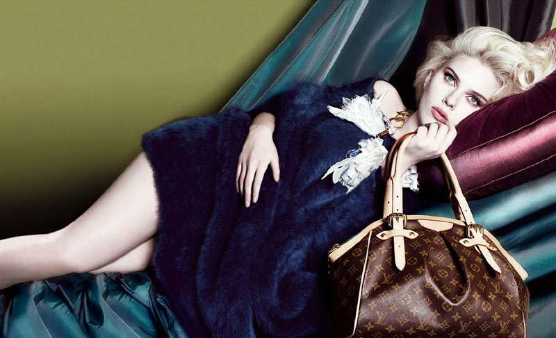 louis vuitton scarlett johansson fall 2007 2 Throwback Thursday | Scarlett Johansson for Louis Vuittons Fall 2007 Campaign