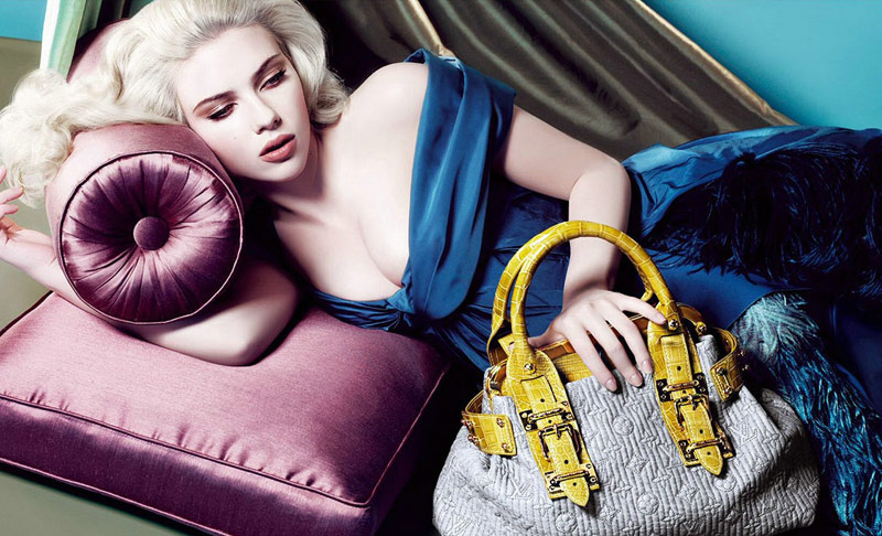 louis vuitton scarlett johansson fall 2007 4 Throwback Thursday | Scarlett Johansson for Louis Vuittons Fall 2007 Campaign