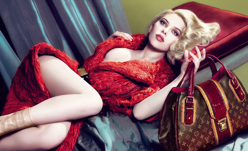 louis vuitton scarlett johansson fall 2007 6 Throwback Thursday | Scarlett Johansson for Louis Vuittons Fall 2007 Campaign