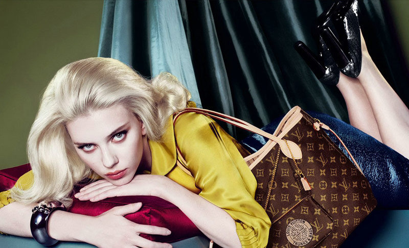 louis vuitton scarlett johansson fall 2007 7 Throwback Thursday | Scarlett Johansson for Louis Vuittons Fall 2007 Campaign