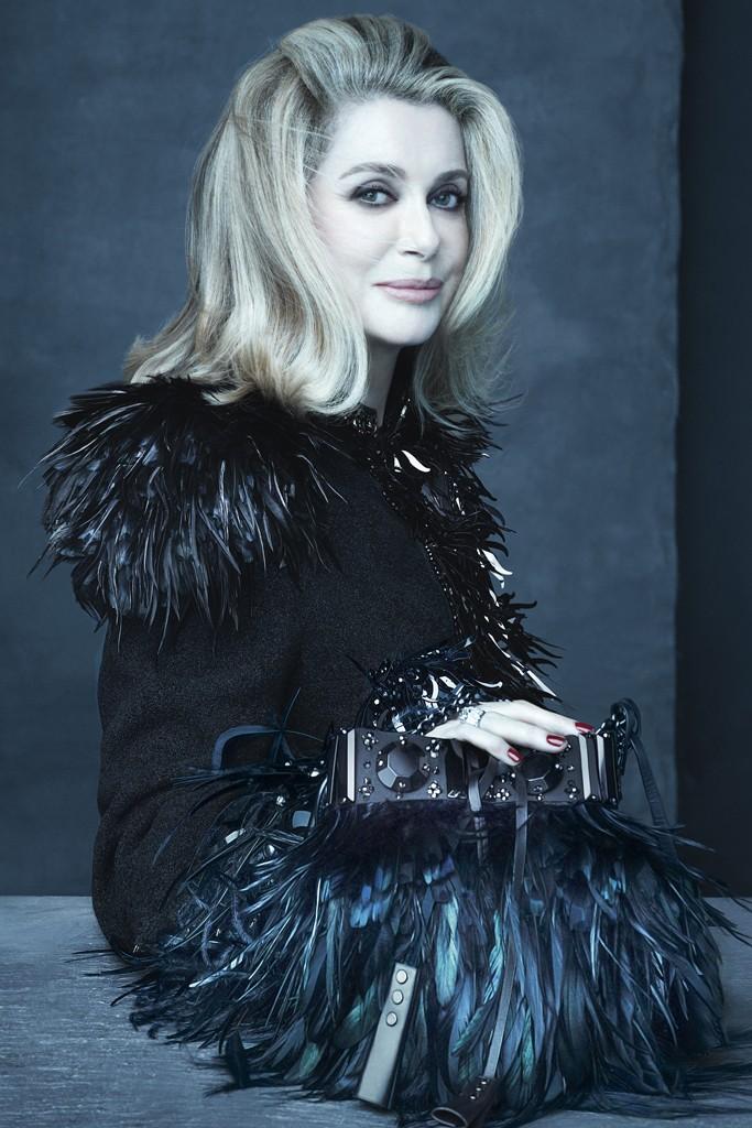 louis vuitton spring 2014 campaign1 Catherine Deneuve, Sofia Coppola + Caroline de Maigret Star in Louis Vuittons Spring 2014 Campaign