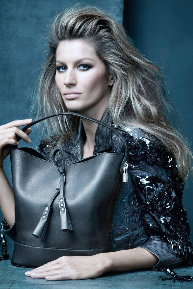 louis vuitton spring ads2 See Gisele Bundchen, Edie Campbell + More for Louis Vuittons Spring 2014 Ads