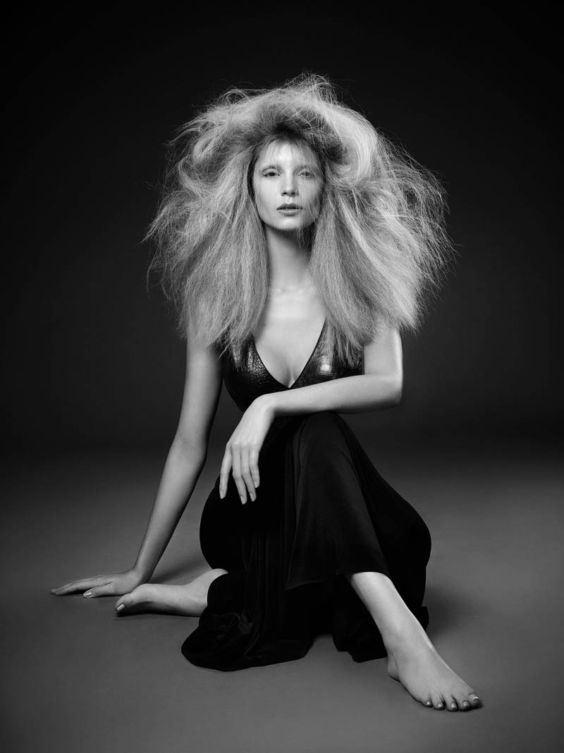 luigi murenu hair3 Luigi Murenu Creates Stunning Hair for Vogue Brazil by Manuel Nogueira