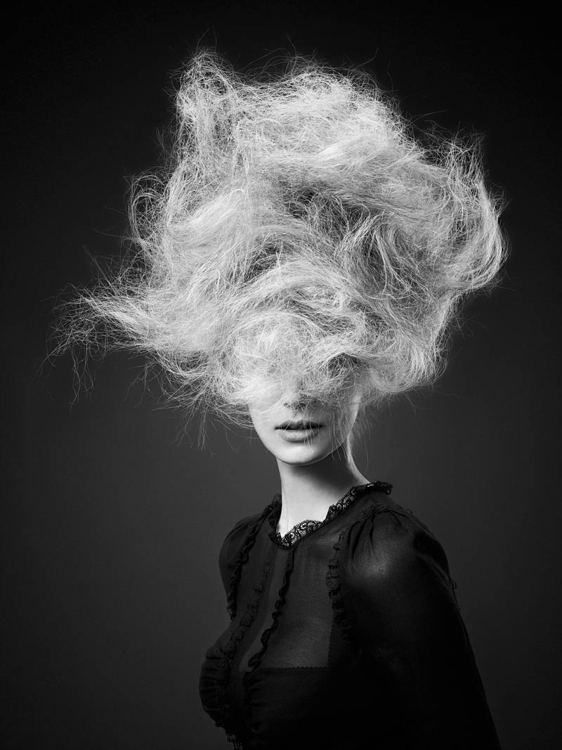 luigi murenu hair4 Luigi Murenu Creates Stunning Hair for Vogue Brazil by Manuel Nogueira