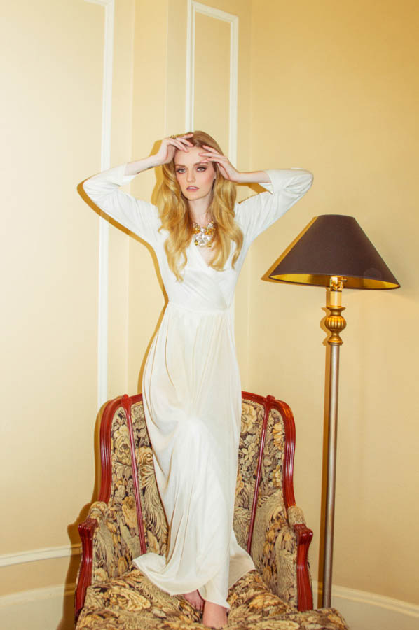 Lydia Hearst Poses for So Chic Magazine by Andrew Kuykendall