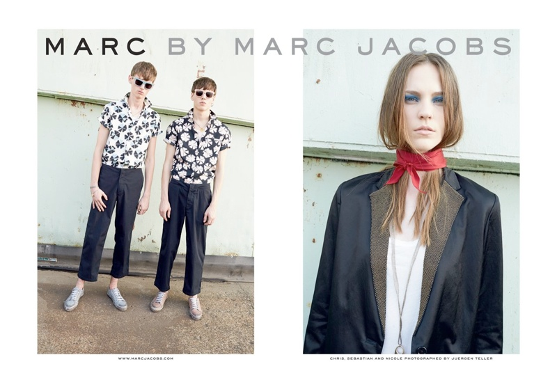 marc by marc jacobs spring ads1 See Marc by Marc Jacobs Spring 2014 Ads by Juergen Teller