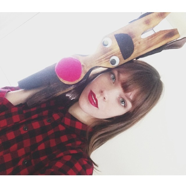 megan reindeer Instagram Photos of the Week | Cara Delevingne, Alyssa Miller + More Model Pics