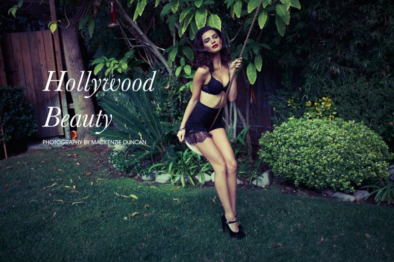 """Mikayla by Mackenzie Duncan in """"Hollywood Beauty"""" for Fashion Gone Rogue"""