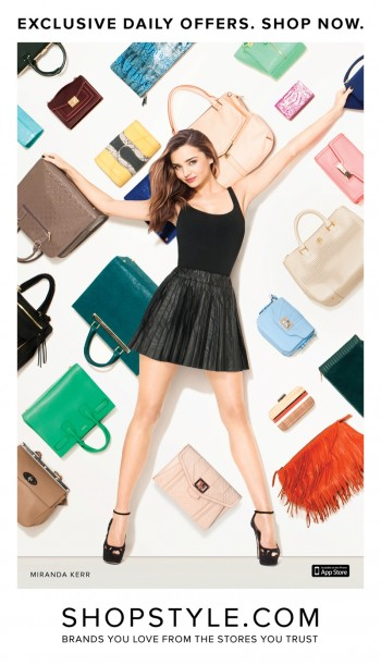 Miranda Kerr for ShopStyle Campaign by Terry Richardson