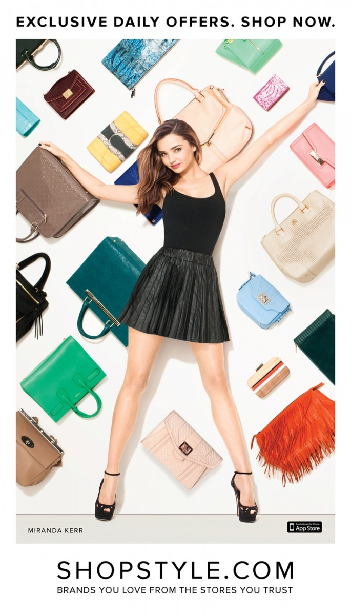 miranda kerr shopstyle terry richardson 685x1200 Miranda Kerr for ShopStyle Campaign by Terry Richardson