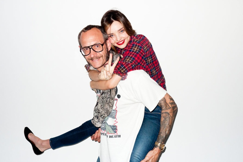 Miranda Kerr Poses For Terry Richardson In Sexy Snaps