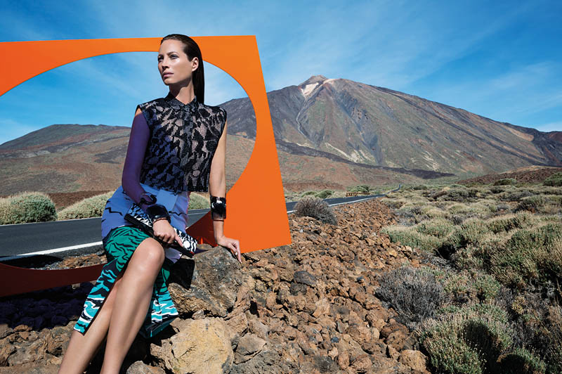 missoni spring summer 2014 camapign1 Christy Turlington Stars in Missoni Spring/Summer 2014 Campaign