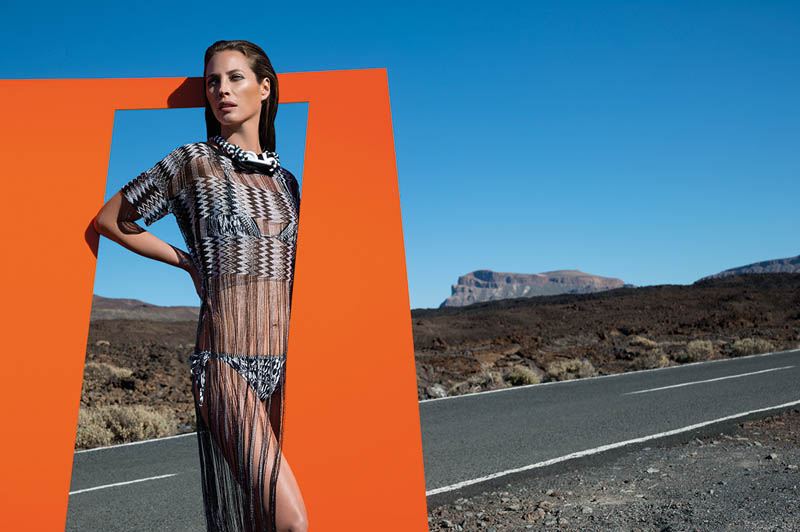 missoni spring summer 2014 camapign2 Christy Turlington Stars in Missoni Spring/Summer 2014 Campaign