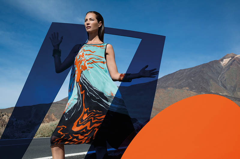 missoni spring summer 2014 camapign4 Christy Turlington Stars in Missoni Spring/Summer 2014 Campaign