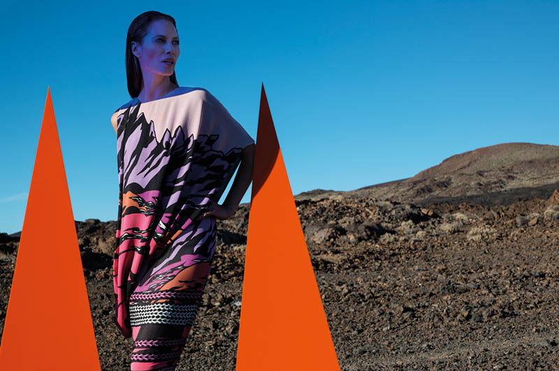 missoni spring summer 2014 camapign7 Christy Turlington Stars in Missoni Spring/Summer 2014 Campaign