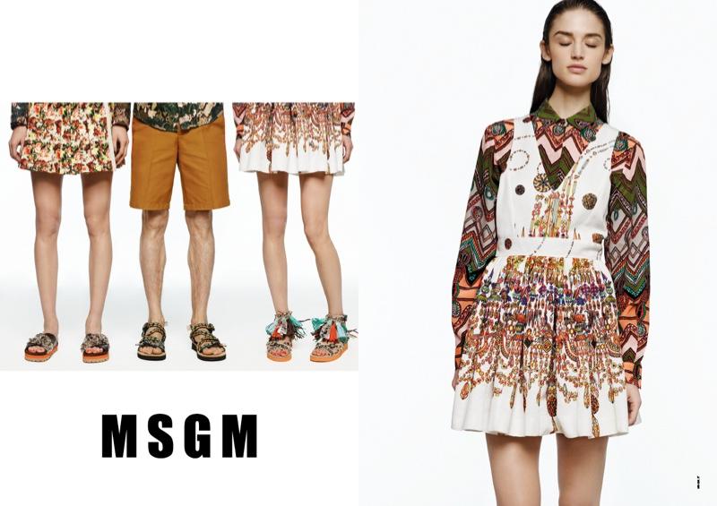 msgm spring 2014 ads4 Kate G. Gets Colorful for MSGM Spring 2014 Ads