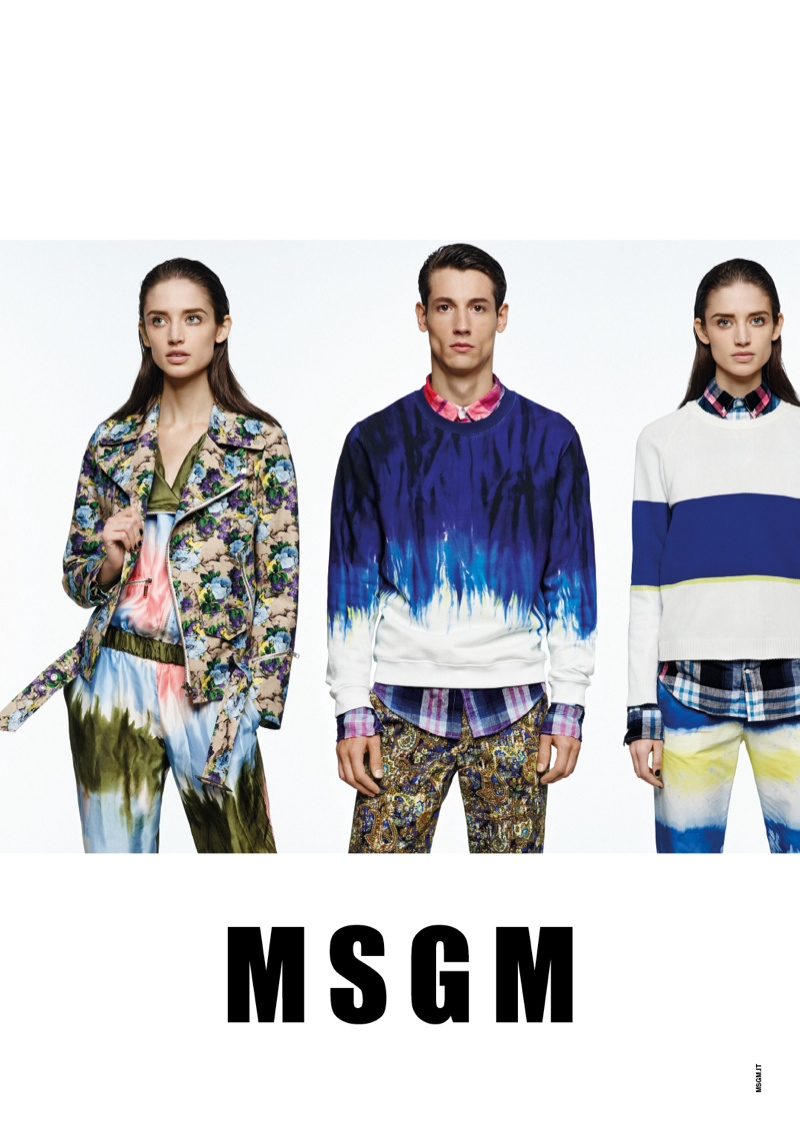 msgm spring 2014 ads7 Kate G. Gets Colorful for MSGM Spring 2014 Ads