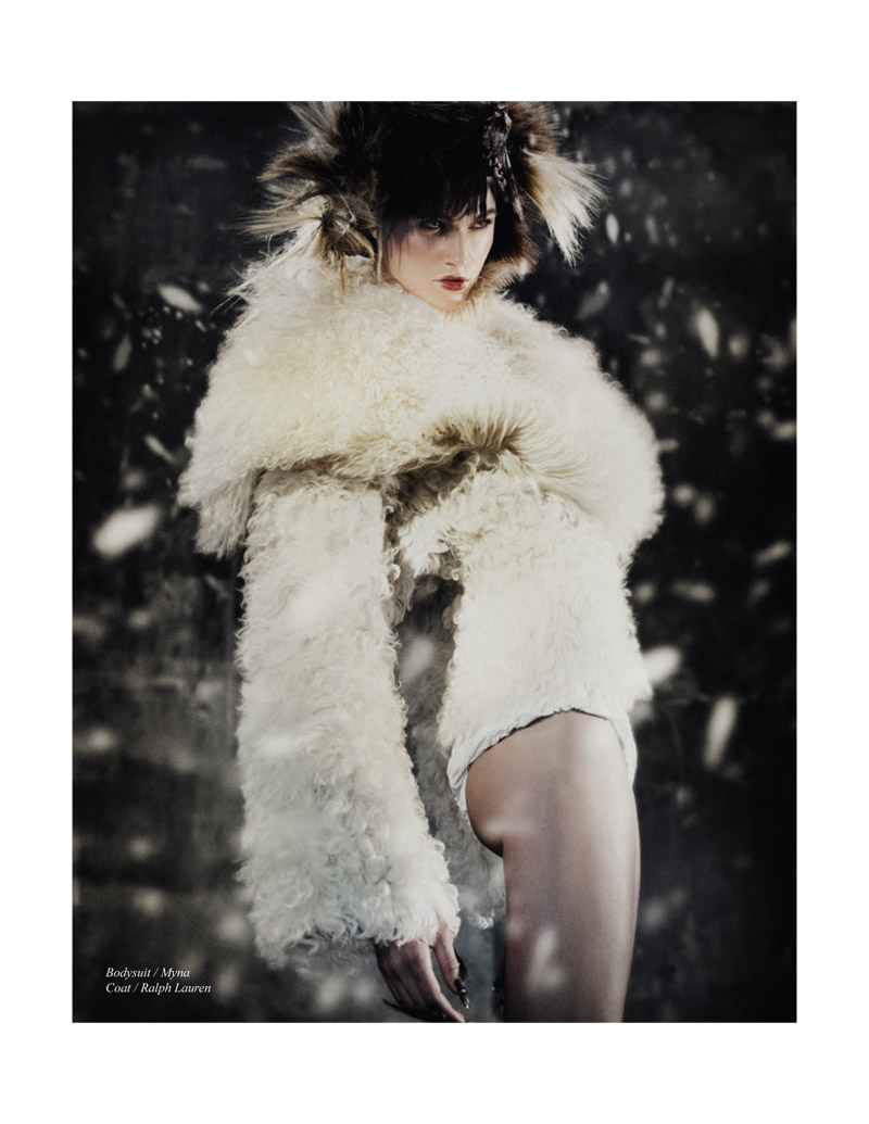 nomad fur shoot5 Rachel Finninger is Nomadic Chic for Schon Magazine