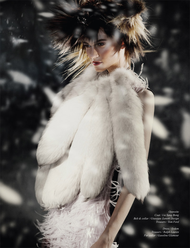 nomad fur shoot8 Rachel Finninger is Nomadic Chic for Schon Magazine