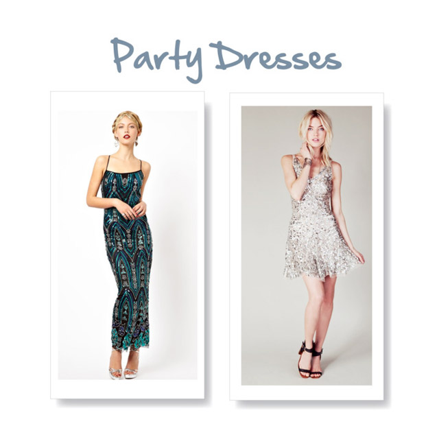 party dresses 6 Party Dresses for Holiday Events