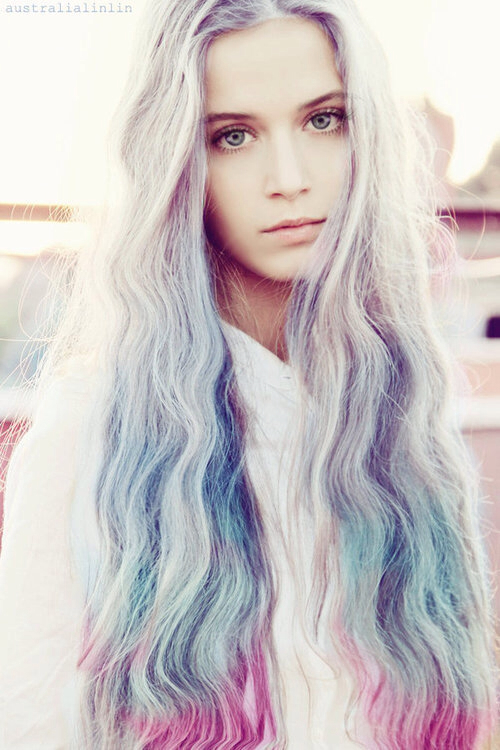 pastel hair 5 of Tumblrs Top Fashion Tags for 2013