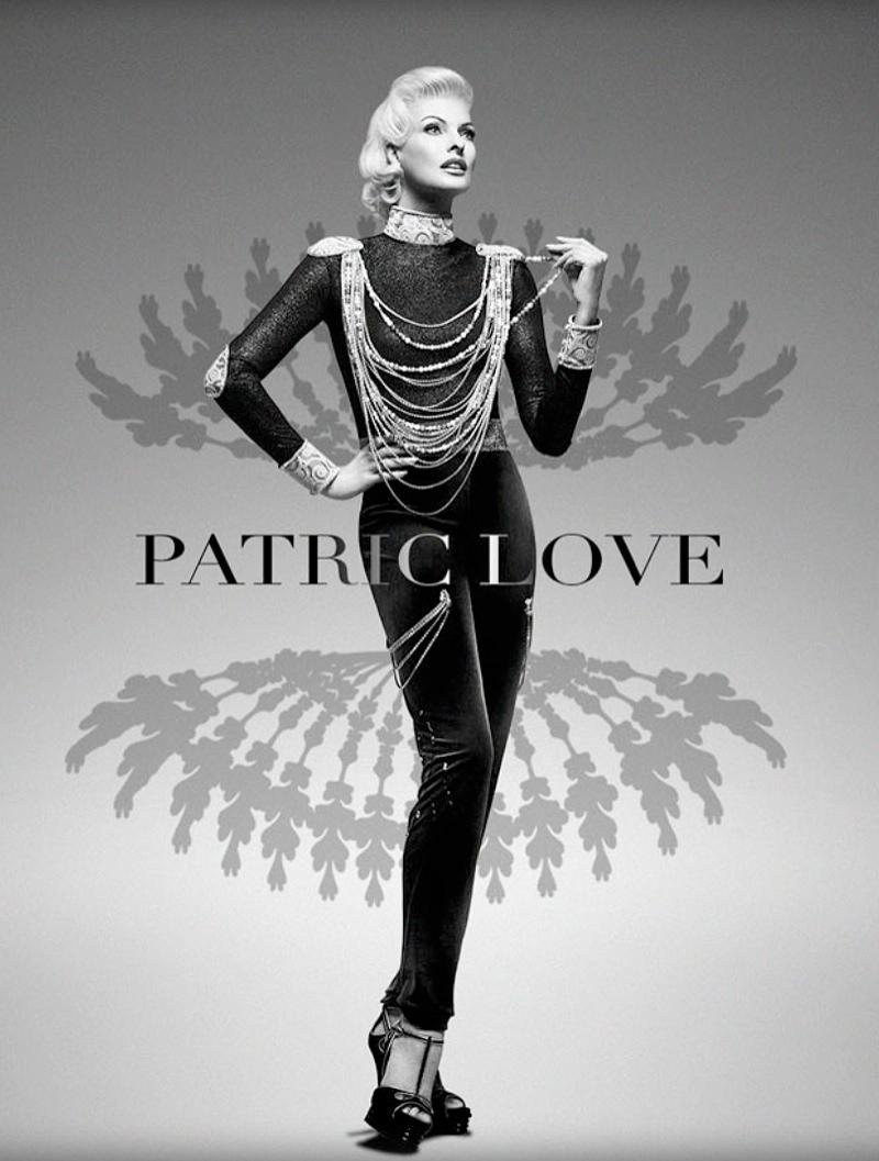 patric love linda spring campaign1 Linda Evangelista Stars in Patric Loves Spring 2014 Campaign