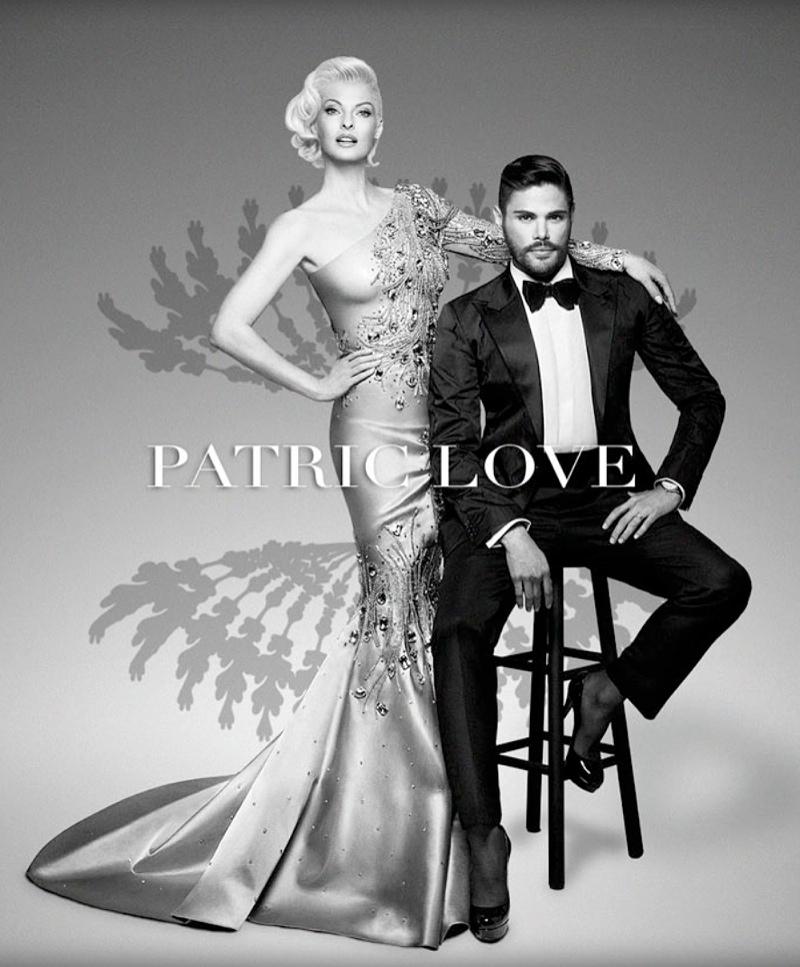 patric love linda spring campaign2 Linda Evangelista Stars in Patric Loves Spring 2014 Campaign