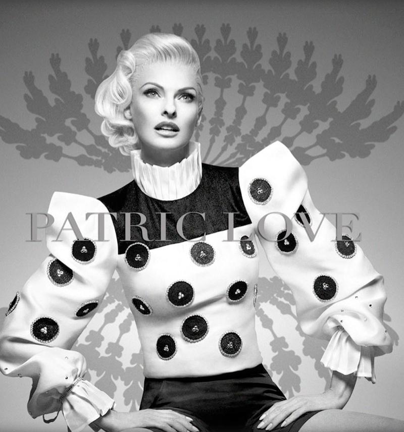 patric love linda spring campaign4 Linda Evangelista Stars in Patric Loves Spring 2014 Campaign
